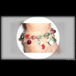 🎅🏻Christmas Motif Charm Bracelet Stretch